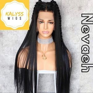 """""""Nevaeh"""" Synthetic Lace Front Wig"""